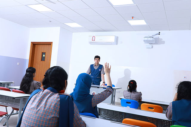 Spacious Digi-Campus and well-lit Digital Classrooms